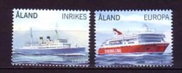 2009 aland neuf ** n� 312/13 transport : bateau : paquebot