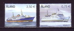 2010 aland neuf ** n� 325/26 transport : bateau : paquebot