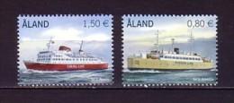 2011 aland neuf ** n� 337/38 transport : bateau : ferrie