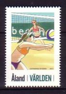 2011 aland neuf ** n� 349 sport : beach volley