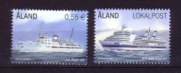 2012 aland neuf ** n� 353/54 transport : bateau de crosi�re