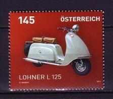 2012 autriche neuf ** n� 2801 transport : moto lohner