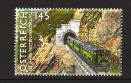 2012 autriche neuf ** n� 2848 transport : train : tunnel