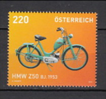 2013 autriche neuf ** n� 2876 transport : moto hmw 250