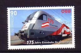 2012 autriche neuf ** n� 2869 transport : train : locomotive