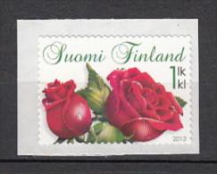 2013 finlande neuf ** n� 2190 fleur : la rose : timbre autoadh�sif