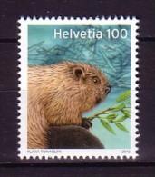 2012 suisse neuf ** n� 2168 faune : castor