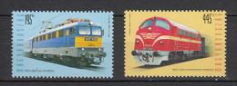 2013 hongrie neuf ** n� 4537/38 transport : train : locomotive