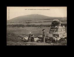 29 - LE MENEZ-HOM - Commune De Plomodiern - Fontaine Miraculeuse - Plomodiern