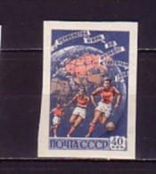 1958 russie neuf ** n� 2056 non dentel� :  coupe du monde de football en su�de