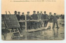 ARROMANCHES-LES-BAINS - Courses De Chevaux 1909 - La Tribune Du Jury - Arromanches