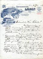 AUTRICHE.VIENNE.FABRIQUE DE PAPIER LABIN GESELLSCHAFT M.B.H. - Autriche