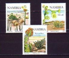 2008 namibie neuf ** n� 1147/49 fleur : euphorbes