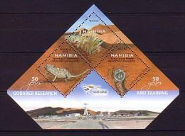 2012 namibie neuf ** bloc n� 84 faune et flore : cam�l�on
