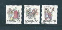 Liechtenstein Timbres De 1990  N°949  A  951   Neufs ** - Liechtenstein