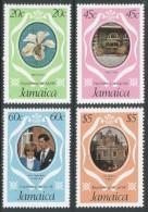 Jamaica. 1981 Royal Wedding. MH Complete Set. SG 516-9 - Jamaica (1962-...)