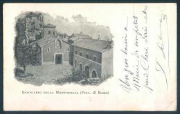Lazio ROMA Santuario Della MENTORELLA - Roma (Rome)