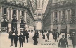 ITALIE - MILANO - Interno Della Galleria V.E. - Milano