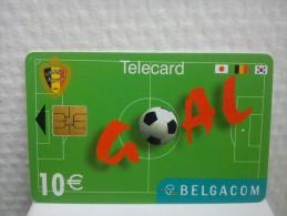Phonecard Football 10 Euro Used Rare - Belgien