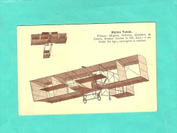 Cpa Aviation  Biplan - 1914-1918: 1ère Guerre