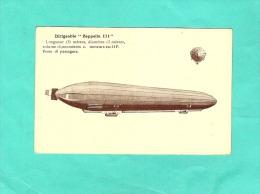 Dirigeable Zeppelin  Aviation - Dirigeables