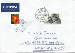 Germany 2001 Leipzig Mountain Gorilla Monkey Ape Cover - Apen