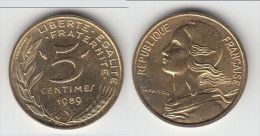 **** 5 CENTIMES 1989 MARIANNE SPLENDIDE **** EN ACHAT IMMEDIAT !!! - C. 5 Centimes