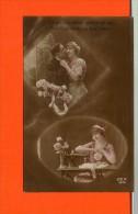 Machine à Coudre -  Fantaisie Série N° 4675 Rex - Singer - Cartes Postales
