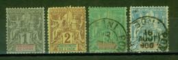 Allégories, Papier Teinté - INDE - Etablissement Français - 1892 - India (1892-1954)