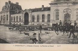 Chasse à Courre  CHANTILLY  - La Rentrée Au Chenil - Hunting