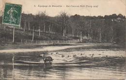 Chasse à Courre   Equipage De Bonnelles - Bat-l'eau Au Petit étang Neuf - Hunting