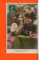 Machine à écrire -  Publicité - Fantaisie - Enfant Série N°655 AS - Cartes Postales