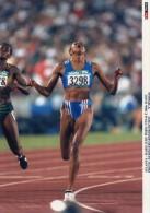 Photo Originale De Presse - Marie-josé  PEREC   ,  ATLANTA   Finale 200 M Dame  ; Dossard 3298 - Sports