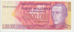 Nicaragua 5000000 Cordobas 1990 Pick 165 UNC - Nicaragua
