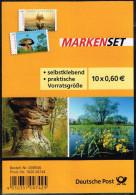 Bund 2014, Michel # 3080 - 81 ** Selbstklebend MH, Self-adhesive  Booklet - Carnets