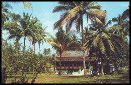 MALAYA. MALACCA. MALAY KAMPONG. 1950's Unused Postcard - Malaysia
