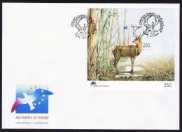 BLOC Année Européenne Du Tourisme 1991 - FDC