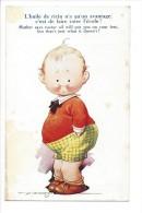 10204 -  L'huile De Ricin N'a Qu'un Avantage C'est De Faire Rater L'école Tempest Enfant - Other Illustrators