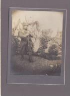 "Photo Militaire Guerre 14/18 - Inscription Manuscrite Verso  ""souvenir De La Guerre 1914-1915"" - Guerra, Militari"