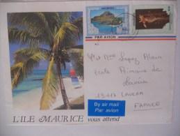 Maurice Lettre 1994 Pour Lavera - Maurice (1968-...)