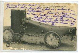 37-012 TOURS  Grandes Fetes Eté 1908 Obus Torpilleur Sur Roues De M Chantelot   - CARTE MOLLE - Tours
