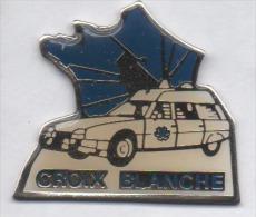 Médical , Ambulances Croix Blanche , Auto Citroën XM , Lapalisse , Allier - Medizin