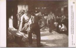 Salon 1910 - Jules ADLER - Les Enfourneurs (Intérieur D'une Fabrique Mécanique De Bouteilles) - Peintures & Tableaux