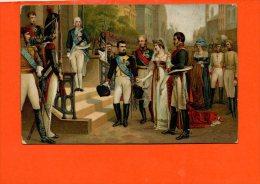 Napoléon 1er Et La Reine De Prusse à Tilsit (militaire ) - Personnages