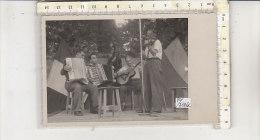 PO7146C# FOTOGRAFIA ORCHESTRA MUSICALE - FISARMONICHE RANCO GUGLIELMO - Persone Anonimi