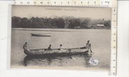 PO7287C# GUINEA FRANCESE - PIROGUE DE NALONS   No VG - Guinea Francese