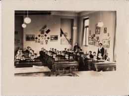 PHOTO FOTOGRAFIA SCUOLA CESANO MADERNO 25 -II-1937(NANDO E' DI FIANCO AL BALILLA) - Foto