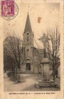 D65  ARTHEZ- D' ASSON  L' Eglise Et Le Mont Bula  ..... - France