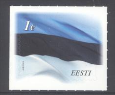 ESTONIA ,2014,MNH, FLAGS, ESTONIAN FLAG, SELF-ADHESIVE, 1v - Vlag