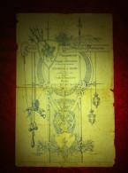 Parma Teatro Reinach  Manifesto saggio di Scherma e Box 1922
